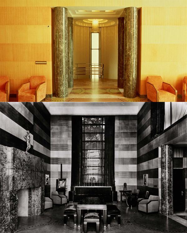 Intérieur Art Déco de la Maison Ernest-Cormier de l'Avenue des Pins