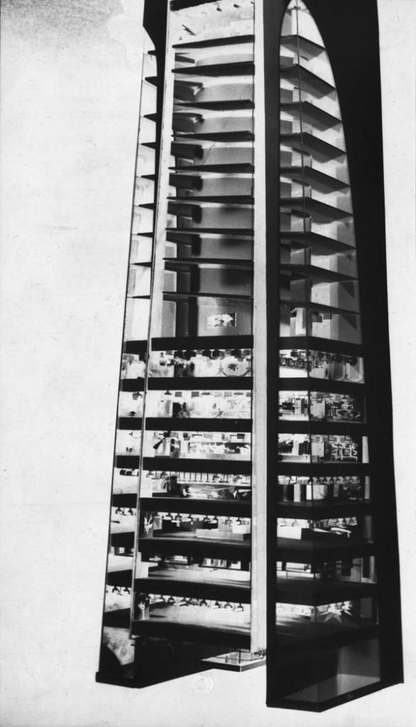 Intérieur de la tour Montréal-Paris.