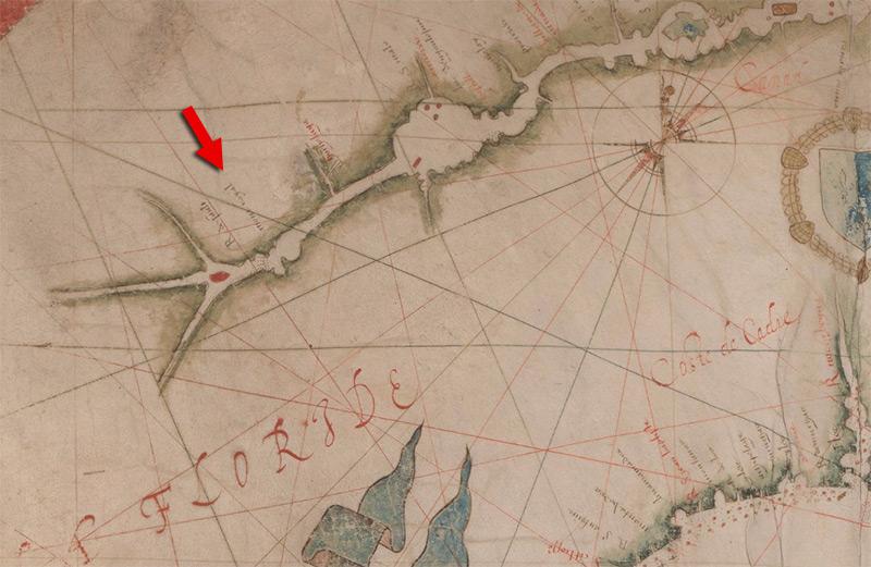 Oui, c'est bien la Floride. Allez dans le sud serait moins difficile. Cliquez sur la carte pour voir en format géant.