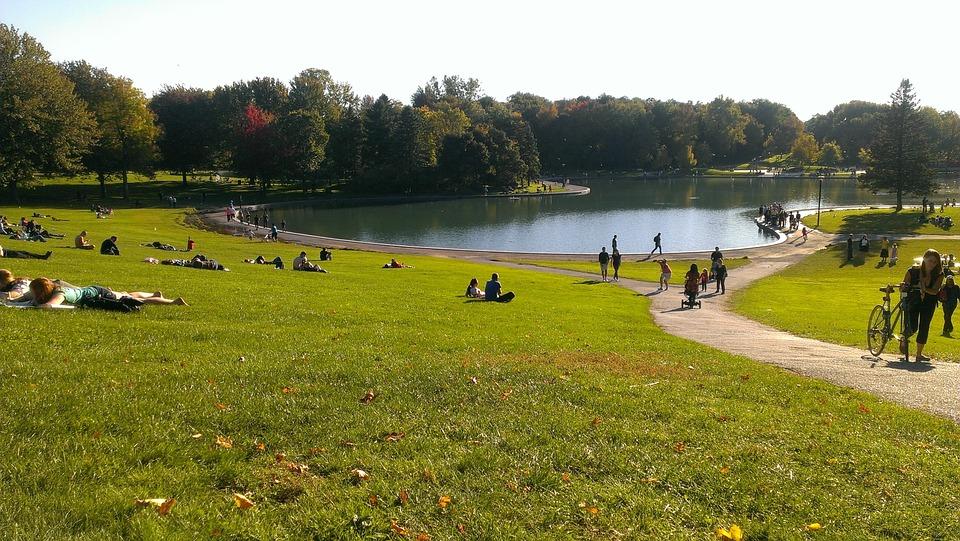 Le lac aux Castors dans le parc du Mont-Royal