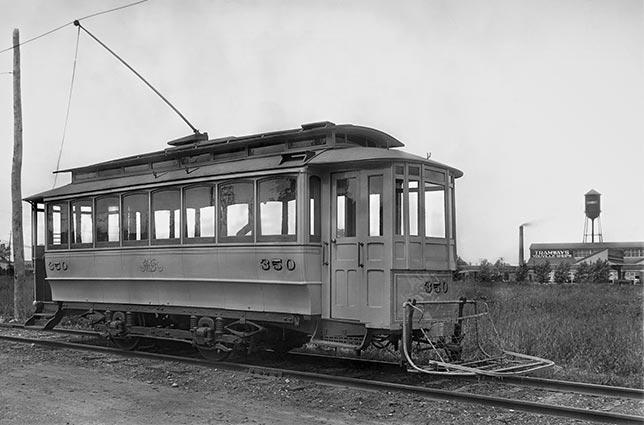 Premier tramway électrique, le Rocket
