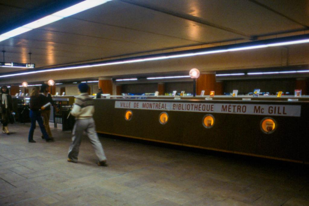 La passerelle de la Bibliothèque