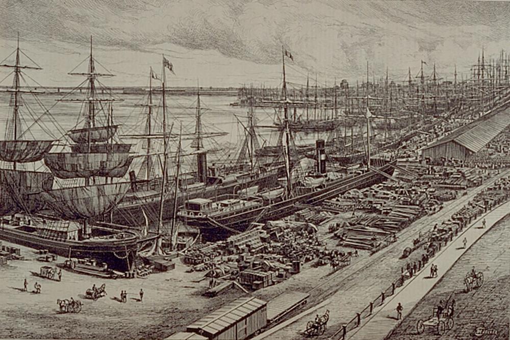 Port de Montréal 1875