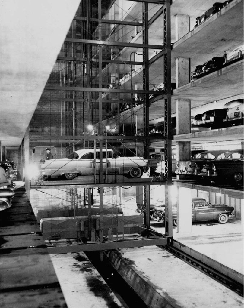Intérieur du garage