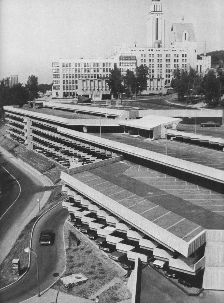 Garage Louis-Colin, 1971
