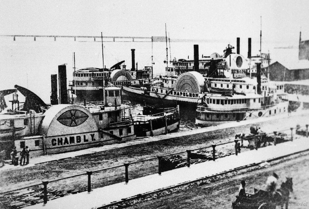 Port de Montréal 1860