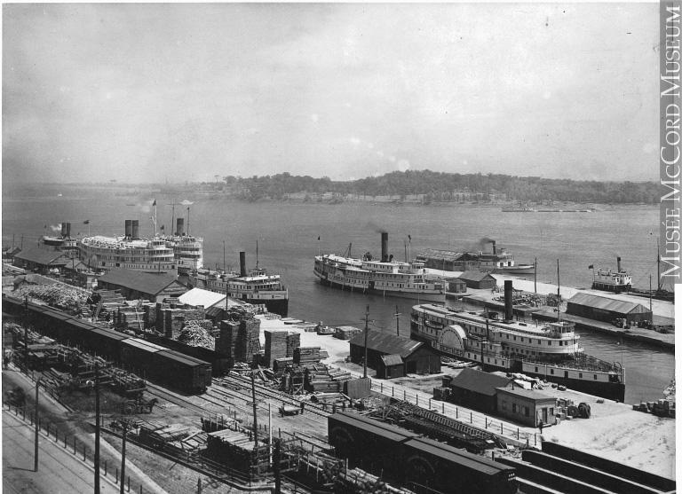 Port de Montréal, 1910
