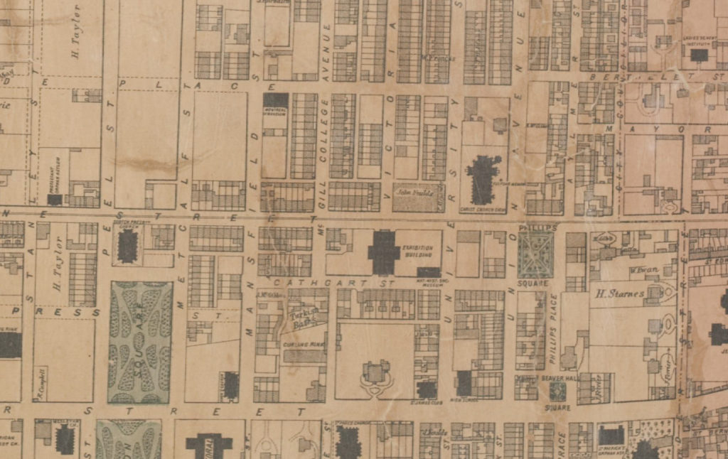 PLan de la ville 1872