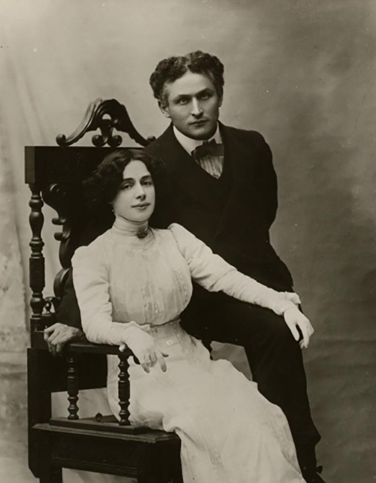 Harry et Bess Houdini en 1907