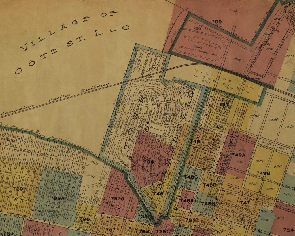 Plan d'assurance de la ville de Montréal, 1940