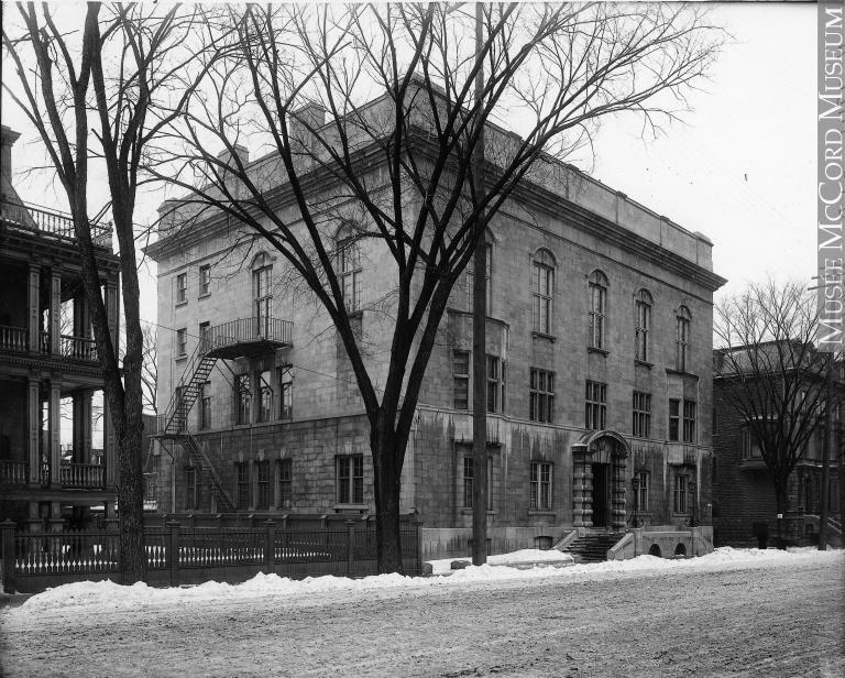 McGill Student Union qui deviendra plus tard le Musée McCord