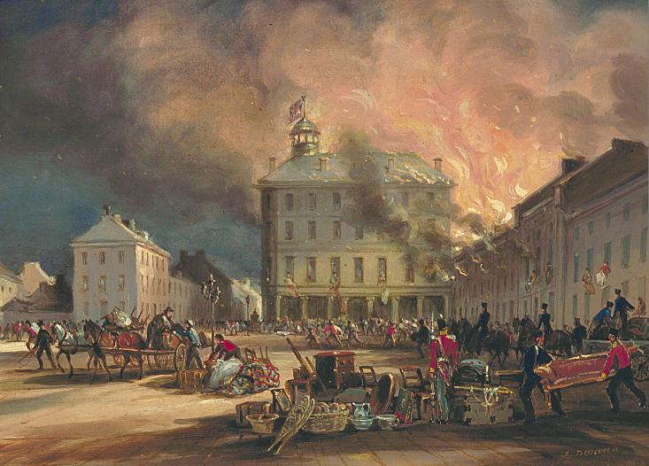 Incendie de 1852