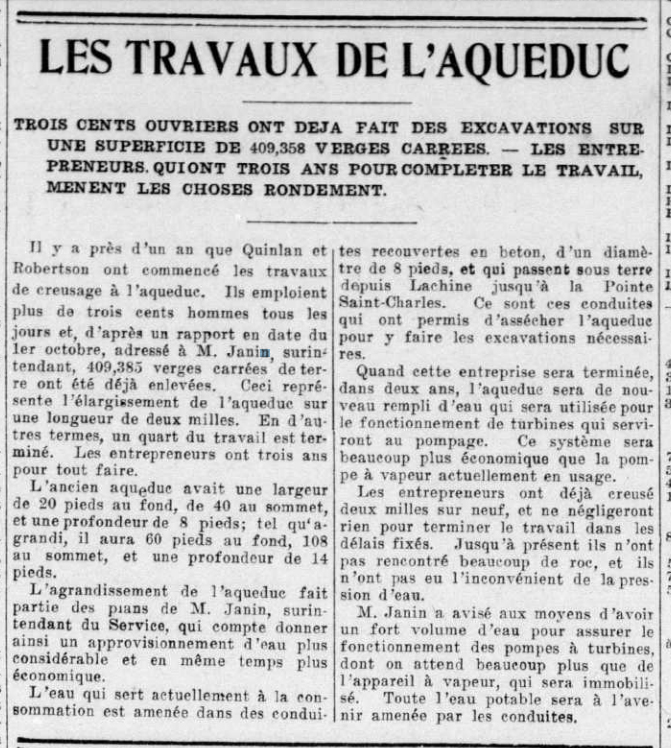 Le devoir, 5 octobre 1910