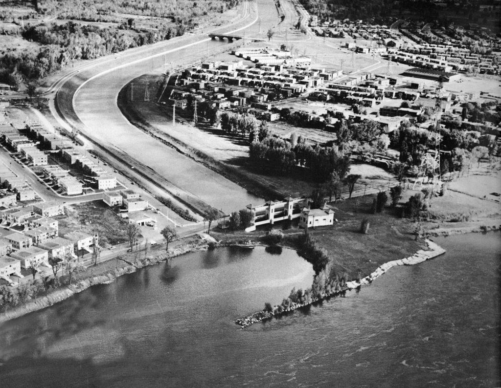 L'embouchure de l'aqueduc, LaSalle
