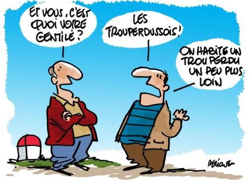 Les trouperdussois, cartoon