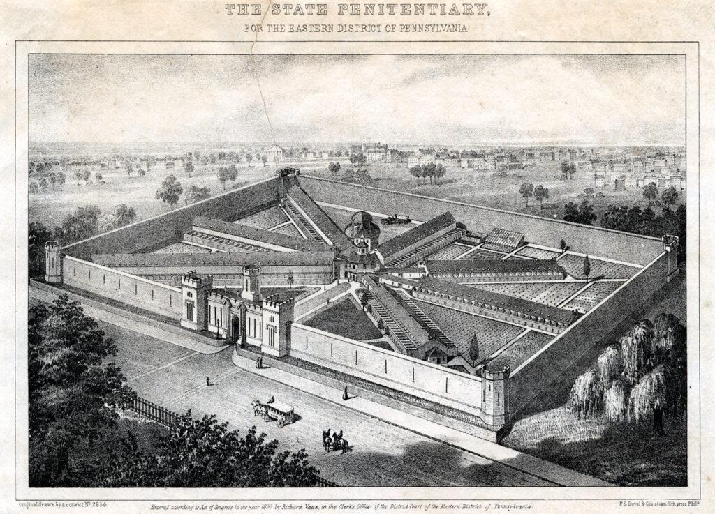La prison d'Eastern State aux USA