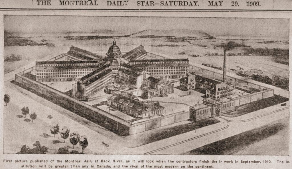 Esquisse de la prison de Bordeaux