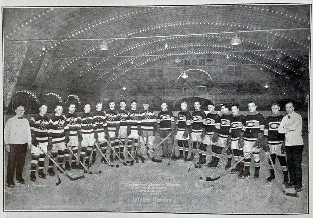 Les Metropolitans de Seattle et les Canadiens de Montréal.