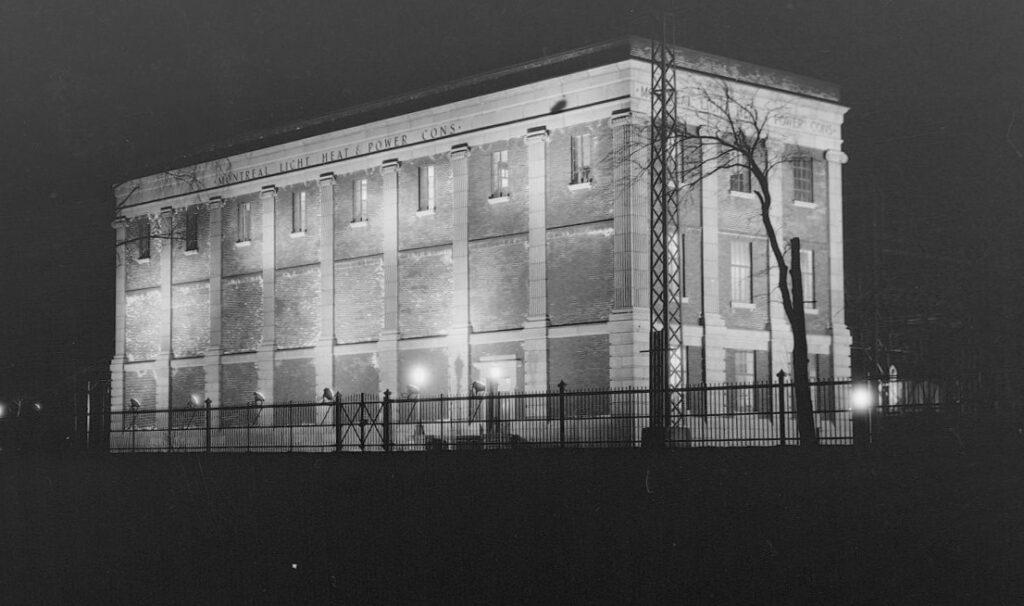 Immeuble de la Montreal Light, Heat and Power Consolidated de la rue Atwater.