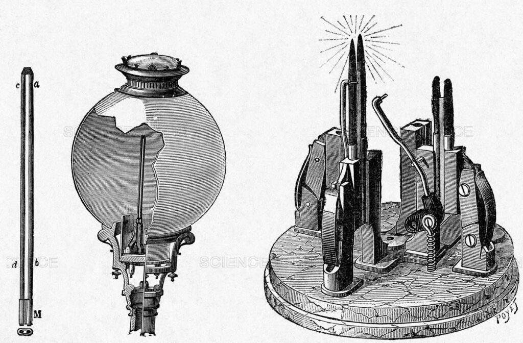 Gravure parue dans Grands Hommes et Grands Faits de l'Industrie, circa 1880