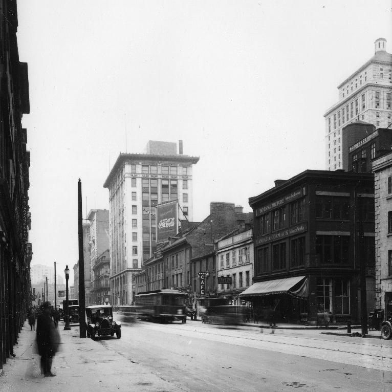 La rue McGill, vers 1930