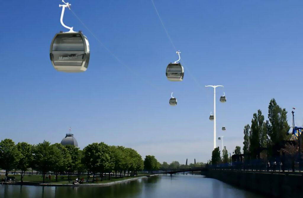 Les télécabines proposées de Skylink en 2008