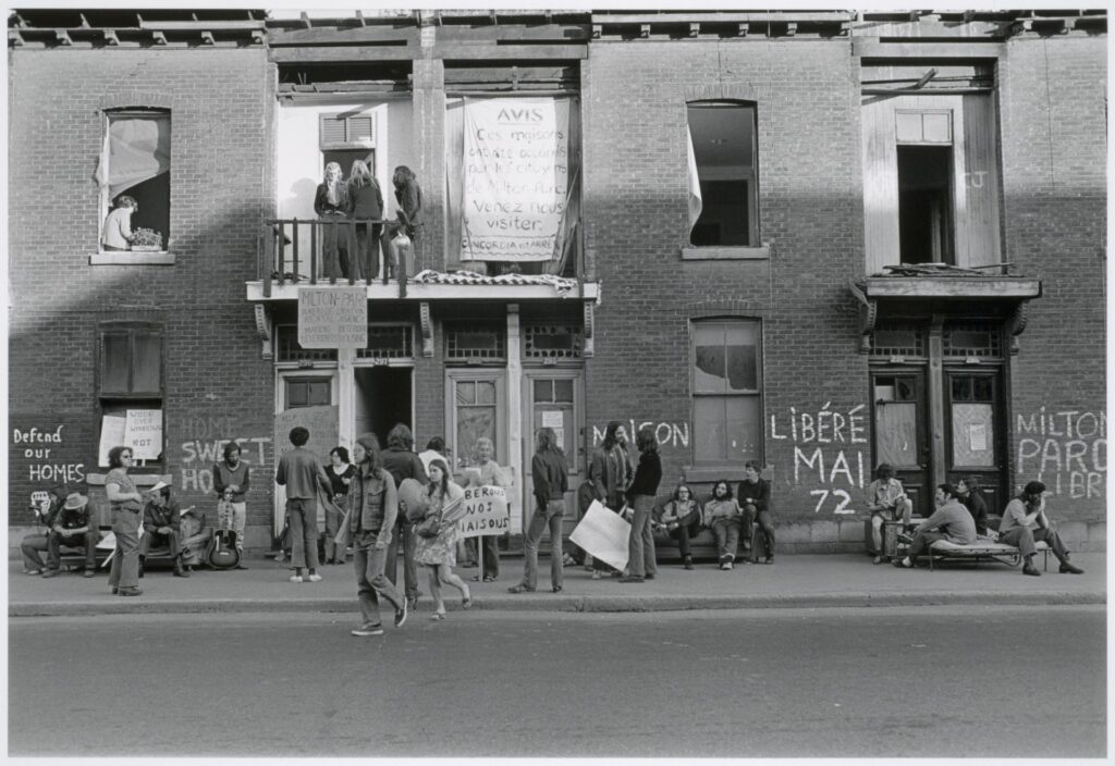 Manifestation mai 1972 Photo : David Miller