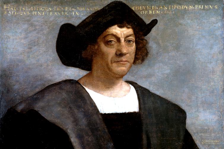 L'Explorateur Italien Christophe Colomb qui s'est trompé de bord en allant vers l'inde.